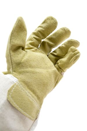 Protective workwear isolated on a white background.