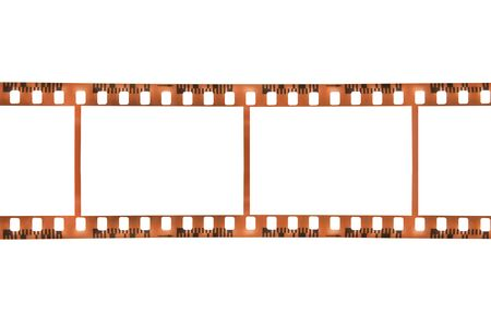 Blank film frames isolated on a white background. Stock Photo - 2996192