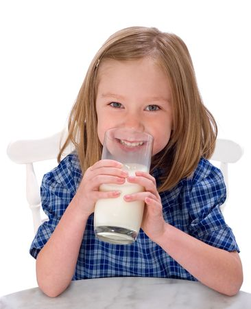 sorbo: Chica leche escolar