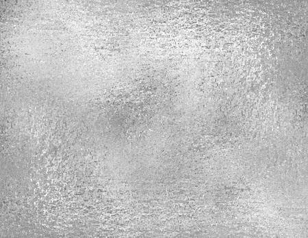 Silver foil texture, grunge background. trendy metallic fabric sample, design element. Banque d'images
