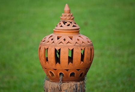Antique lamp in Northeast Thailand