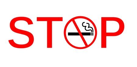 Symbol of stop Smoking