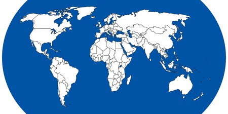 World map Stock Photo - 8929003