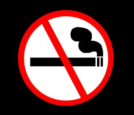 Symbol of No Smoking