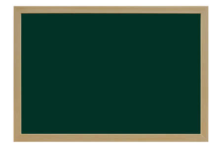 Isolated about blackboard on white background