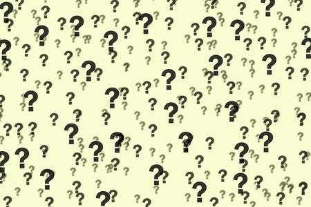 beige: question marks on beige background