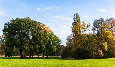 pano: fall colors - Indian Summer