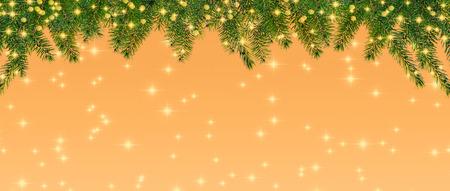 twinkle: twinkle hanginging conifer twigs