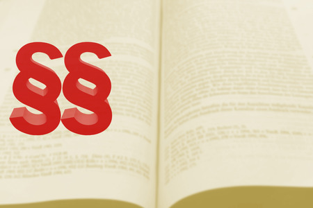 paragraphs: two red paragraphs on open book