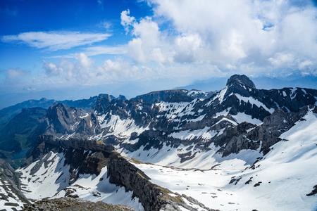 alpine mountains east switzerland