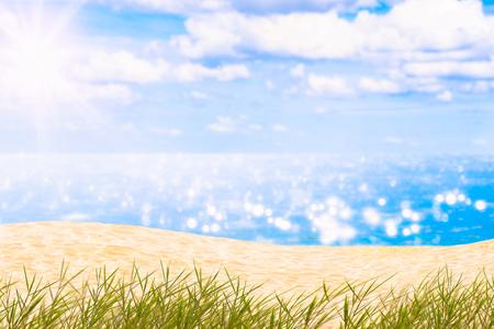 paradise at the sea