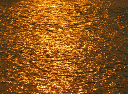 twinkles: Reflection of the River Stock Photo