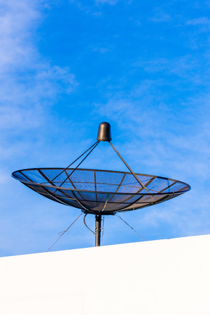sattelite: Satellite Disc Stock Photo