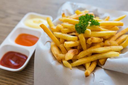 french fries Zdjęcie Seryjne