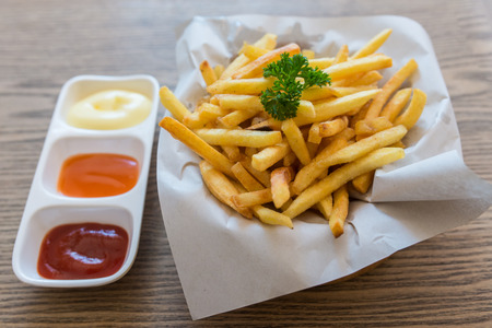 junkfood: french fries Stock Photo