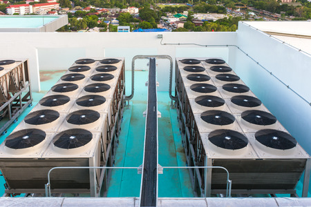 air duct: air duct system on the roof