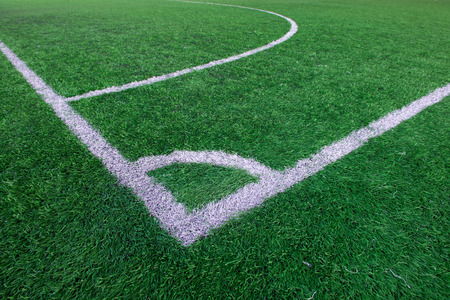 corner kick soccer: Football soccer field