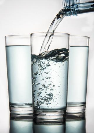 acqua bicchiere: Water glass Archivio Fotografico