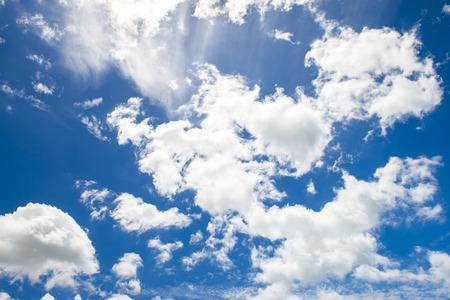 sky cloud: Blue sky cloud texture