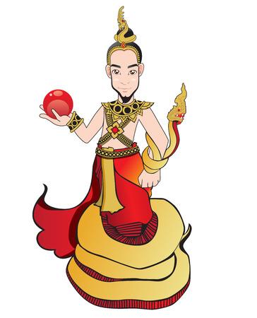 Naga Cartoon