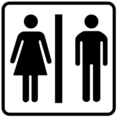 Toilet symbol sign 일러스트