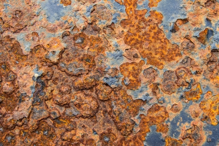 Close up of rusty metal texture background photo