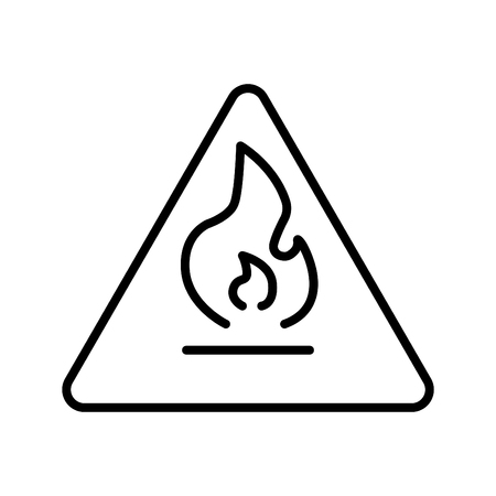 sign,firefighters,hydrant icon, vector illustration, black sign on isolated background