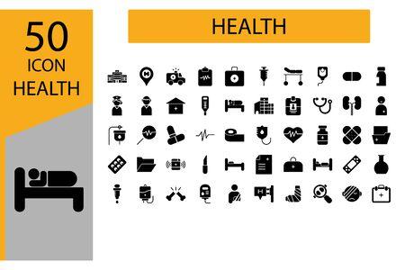Icon Healthcare Vector Graphic Illustrator perfect for Hospital