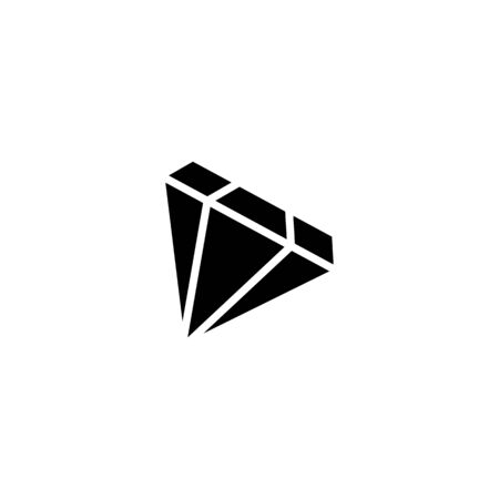Diamond line icon, outline vector sign, linear style pictogram isolated on white. Gemstone symbol, logo illustration. Editable stroke. Pixel perfect good for Business