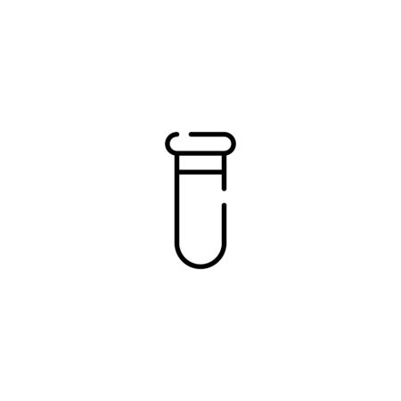 Thin line Icon Erlenmeyer Flask icon, Suitable for use on web apps, mobile apps, Vector illustration editable stroke . 64 x 64 pixel perfect on White Background Zdjęcie Seryjne - 143189053