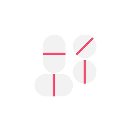 Thin line Icon medicine icon, Suitable for use on web apps, mobile apps, Vector illustration editable stroke . 64 x 64 pixel perfect on White Background Zdjęcie Seryjne - 144027339