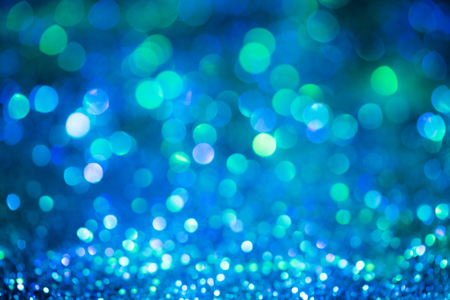 bokeh glitter Colorfull Blurred abstract background.