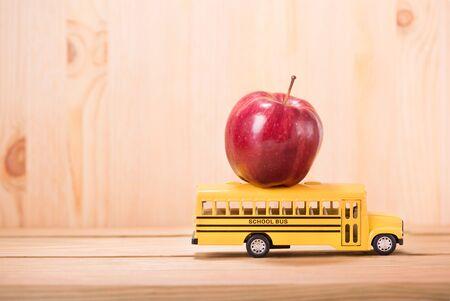 Bildung, Back to School-Konzept mit Kopierraum.
