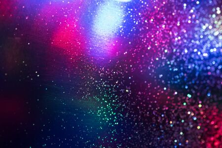 glitter bokeh lighting effect Colorfull Blurred abstract background for birthday, anniversary, wedding, new year eve or Christmas.