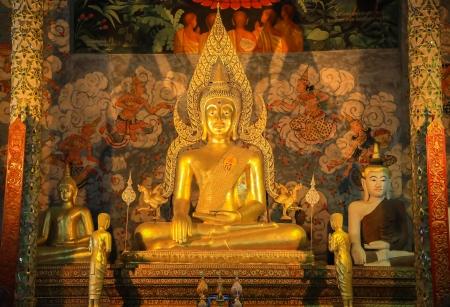 Buddha of Prathat chohae, Phare, Thailand
