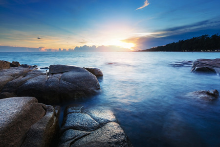 Beautiful seascape.Composition of nature. Stock Photo