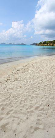 st john: Honeymoon Beach on St John - US Virgin Islands