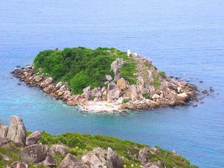 Little Fitzroy Island in Queensland, Australia Stock Photo - 7386126