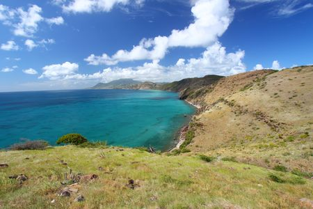 Coastline of Saint Kitts Stock Photo - 7416387