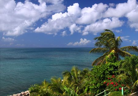 The Caribbean island of Saint Kitts Stock Photo - 7416377