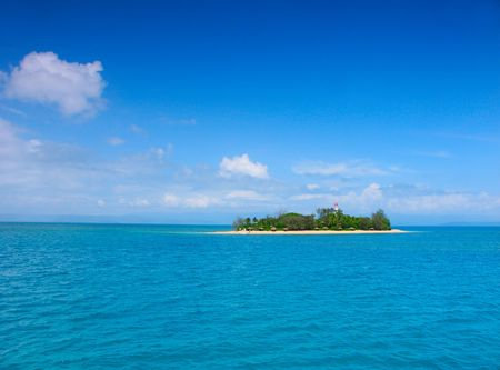 great barrier reef marine park: The Low Isles - Queensland Australia