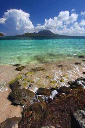 majors: Majors Bay Beach on Saint Kitts