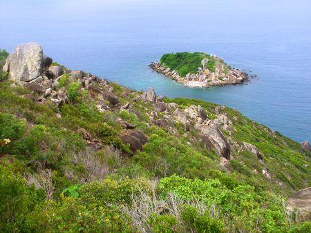 View of Little Fitzroy Island in Queensland, Australia. Stock Photo - 7549263