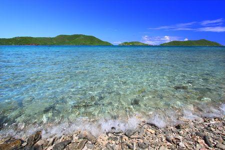 the virgin islands: Caribbean island Tortola - British Virgin Islands