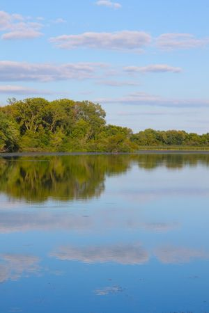 durchstechen: Pierce See im Rock Cut State Park in Illinois