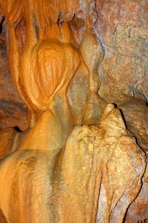 alabama state: Amazing underground cave formations of Rickwood Caverns in Alabama