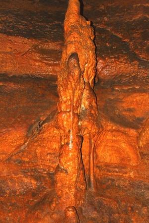 Amazing underground cave formations of Rickwood Caverns in Alabama Stock Photo - 8584565