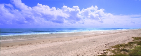 Amazing Ormond Beach along the east coast of Florida photo