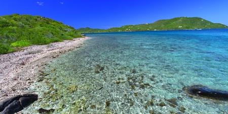 British Virgin Islands on a beautiful sunny day photo
