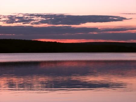 Lake Superior Sunset Stock Photo - 9616889